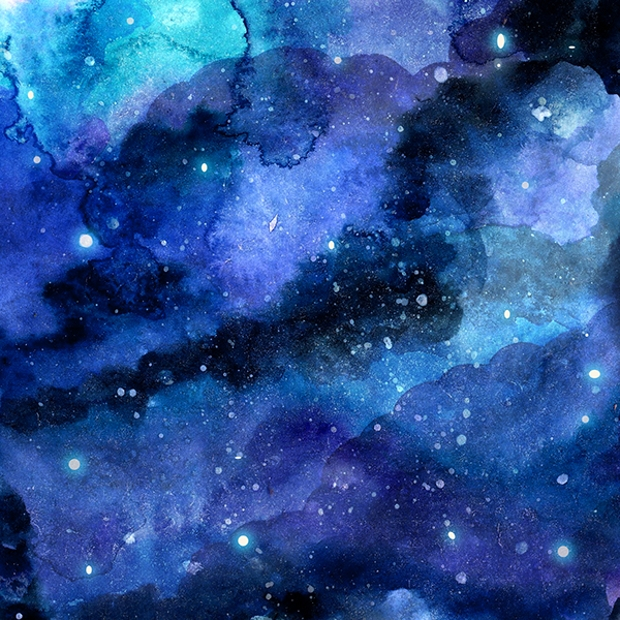 Space Watercolor Texture