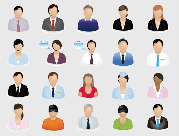 Business Person Icons
