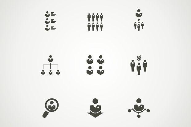 Outline Person Icons
