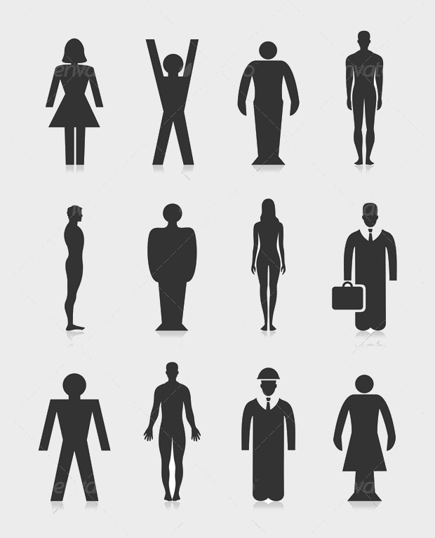 Office Person Icons