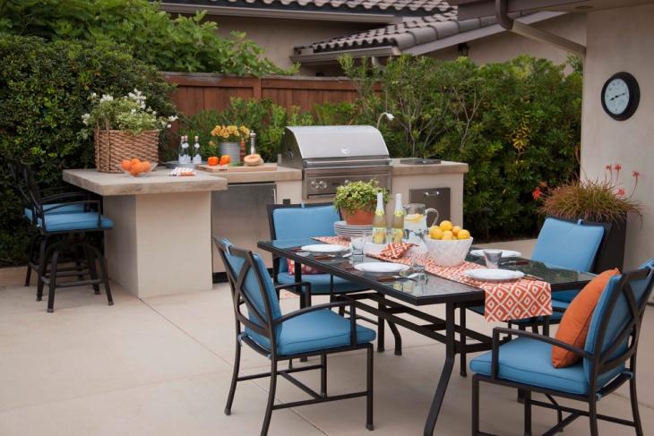 Small Outdoor Kitchen Island