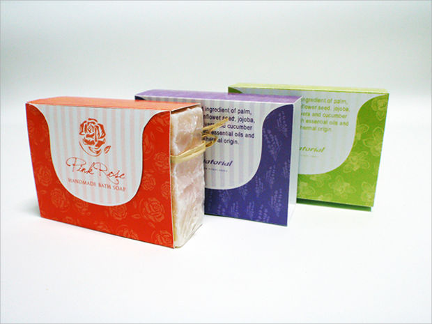 soap bar packaging design