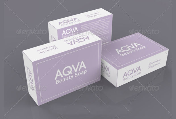 beauty soap packaging design