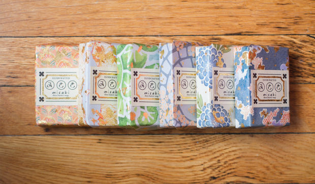 colorful soap packaging