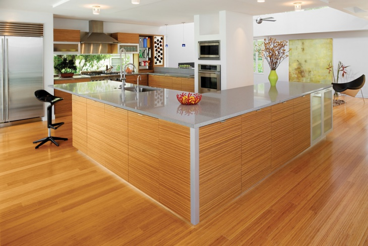 40 kitchen island designs ideas design trends for Square shaped kitchen designs