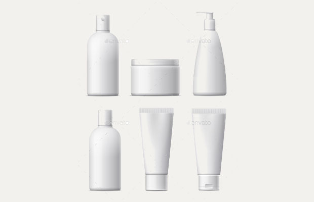 cream cosmetic packaging design