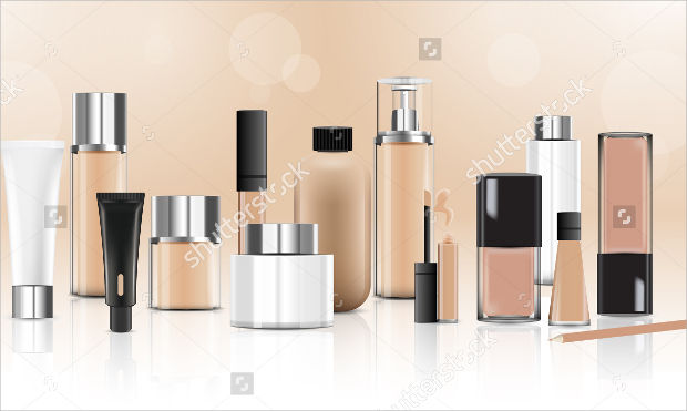 beauty cosmetic product packaging