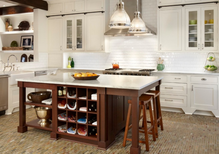 Kitchen Island Storage Cabinet
