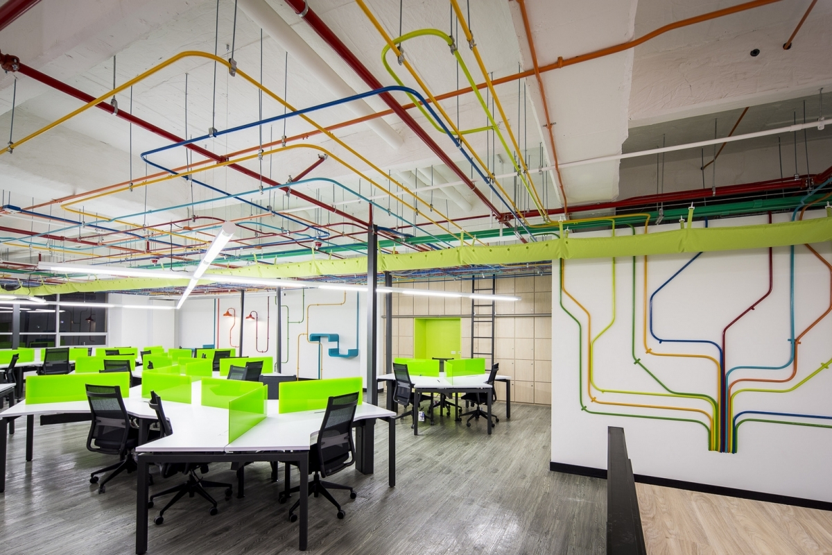 17 corporate interior designs ideas design trends for Big office design