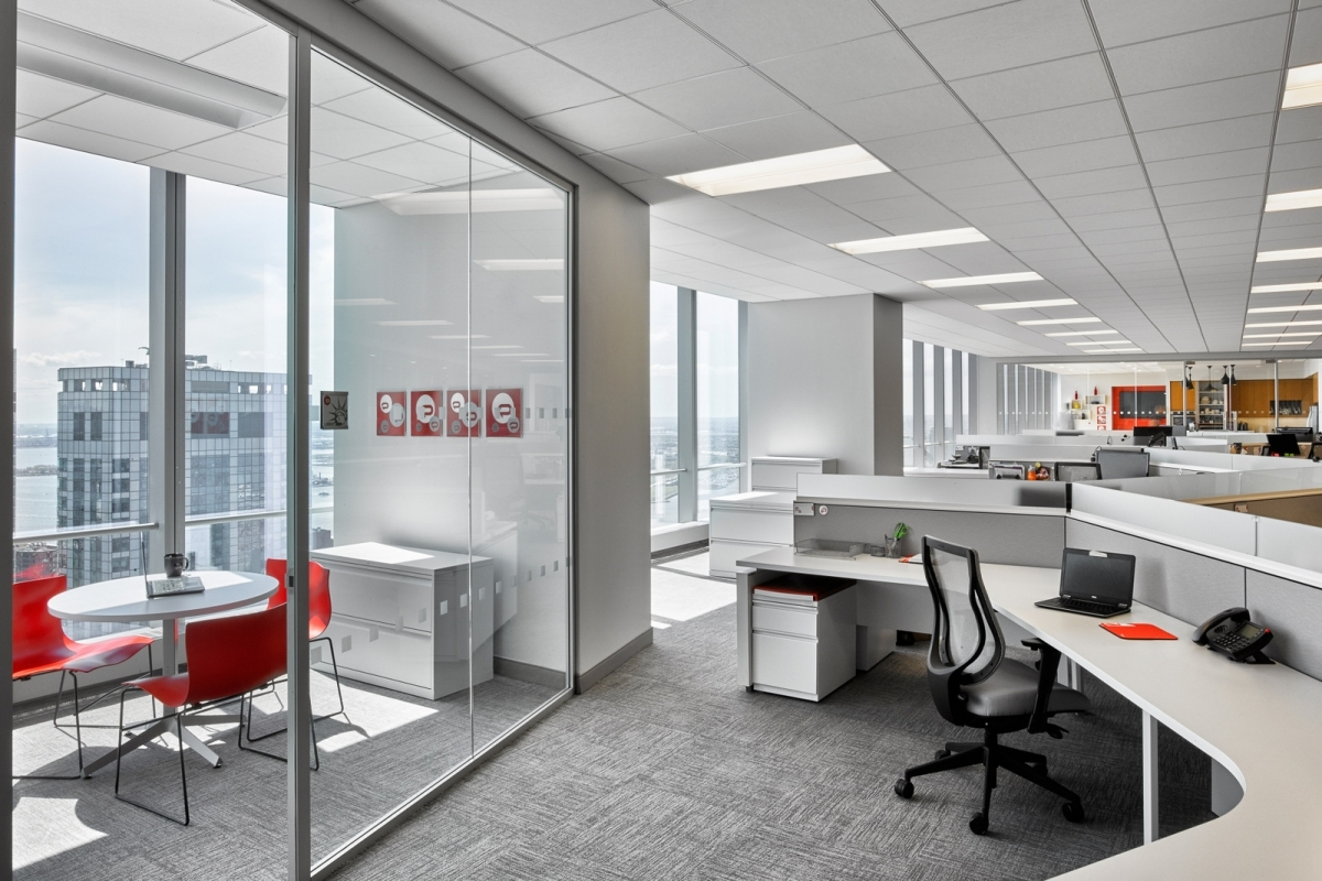 White Corporate Office Interior