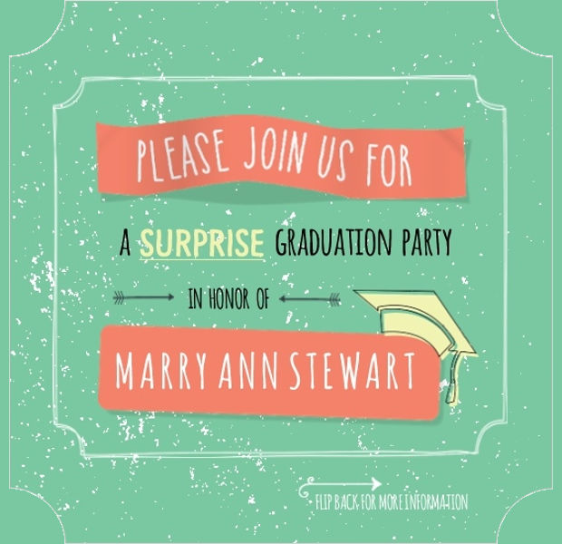 19 Graduation Party Invitation Designs Psd Ai Word