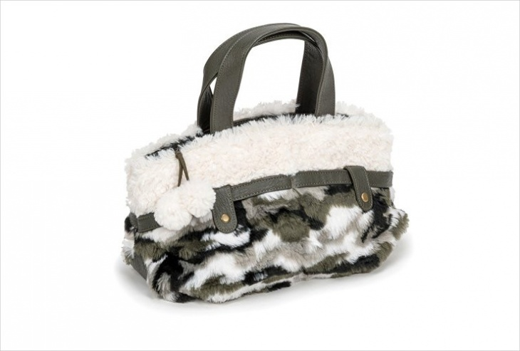 animal fur handbag idea
