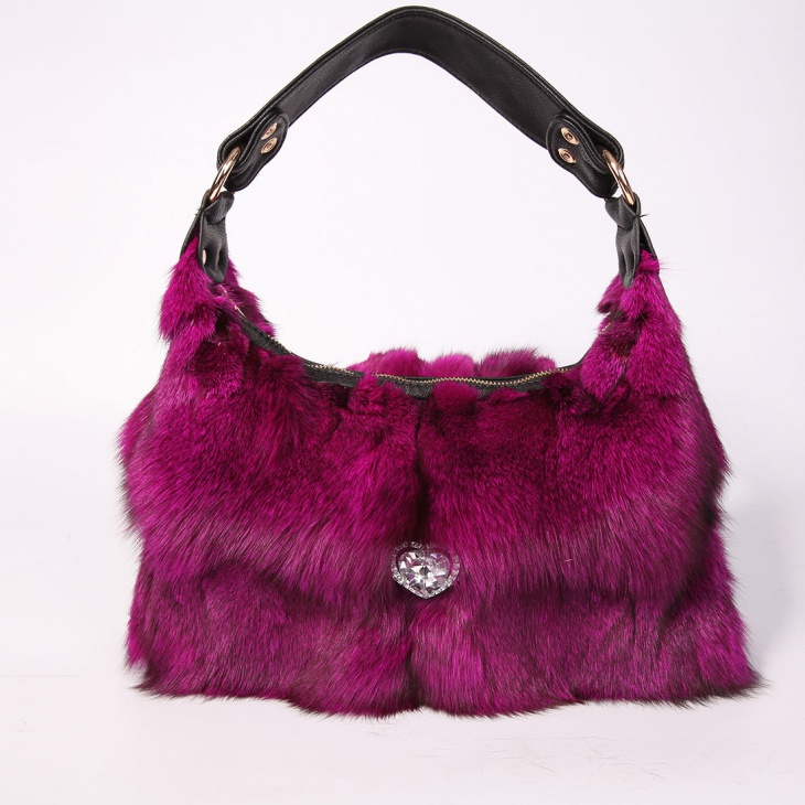 Beautiful Fur Handbag Design