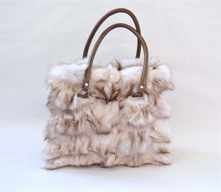 Unique Fur Handbag Idea