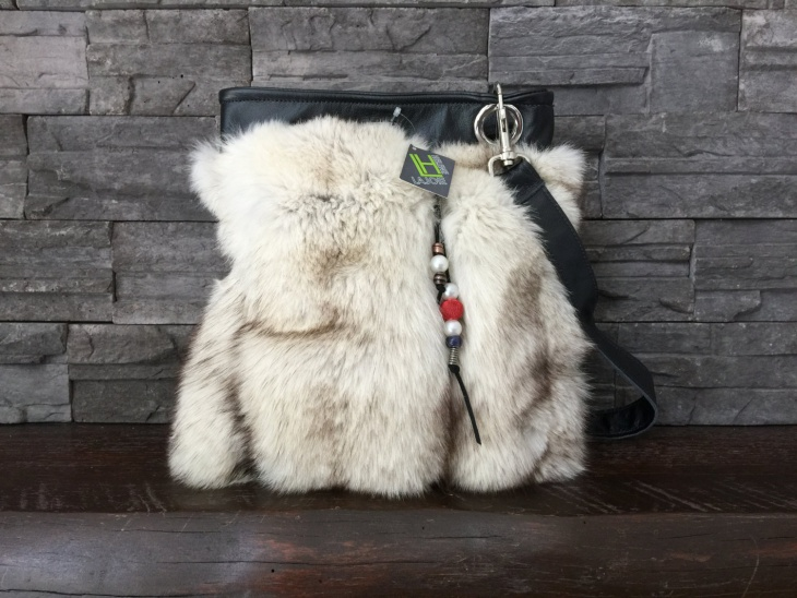 modern fur handbag design