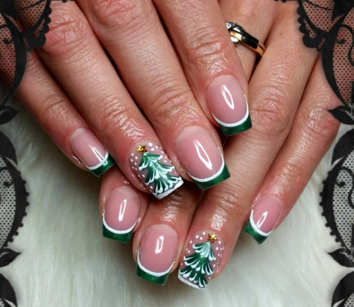 Christmas Design For Short Nails : Christmas nail designs ideas design trends