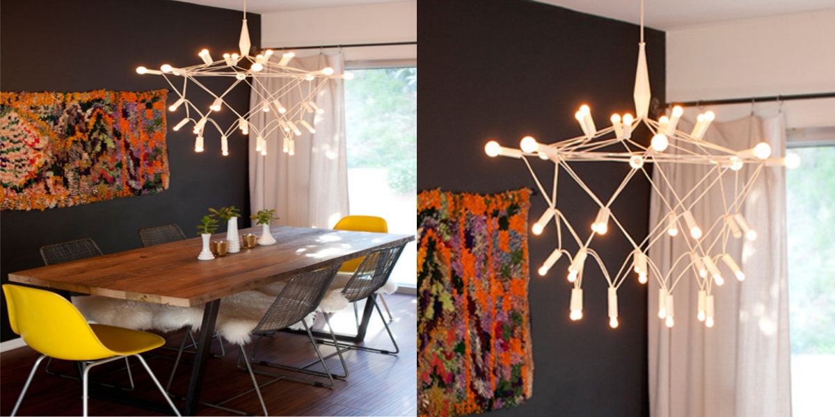 modern style chandelier