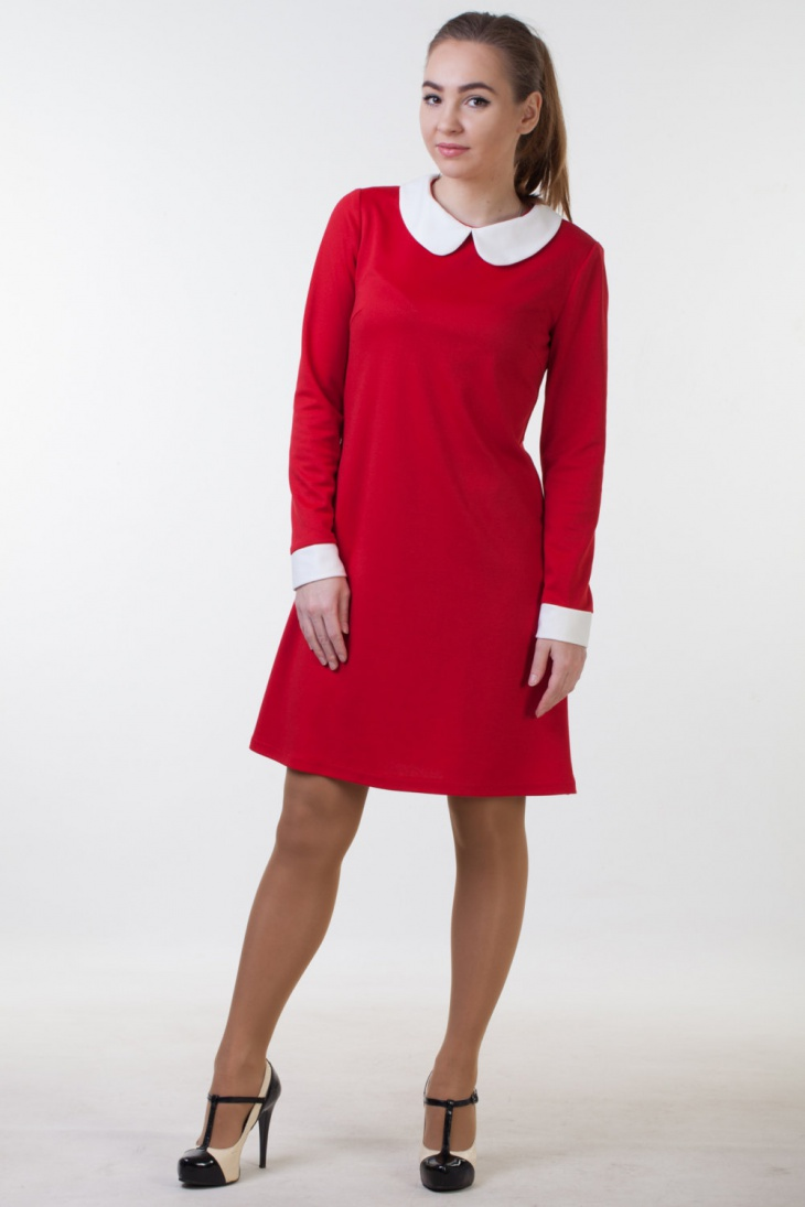 long sleeve christmas party dress