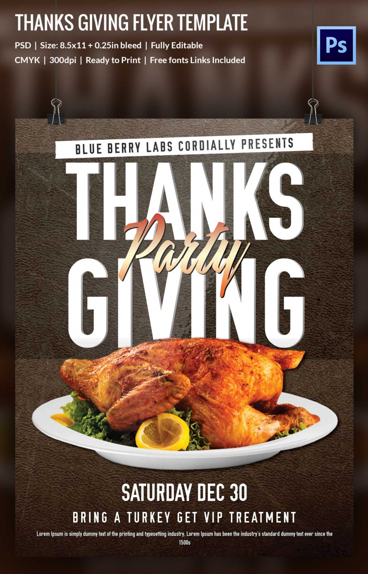 Calendar Cover Page Template : Thanksgiving designs free printable psd ai