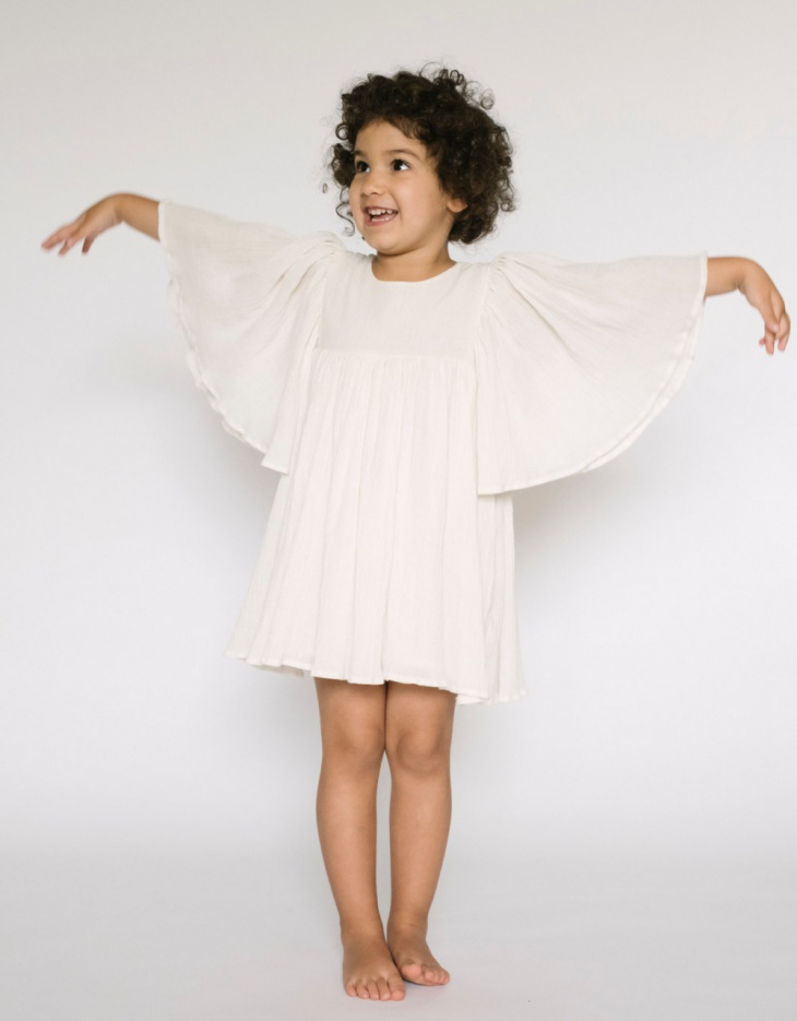 white christmas dress for girls