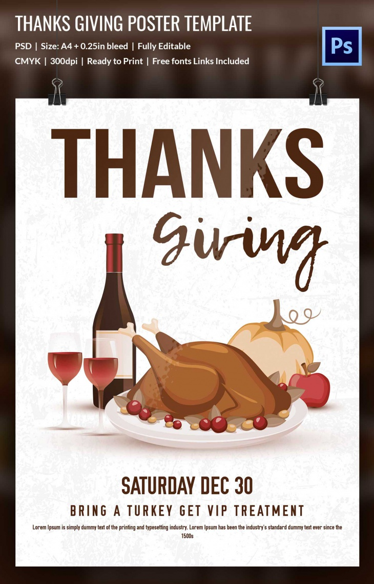 thanks giving poster 1