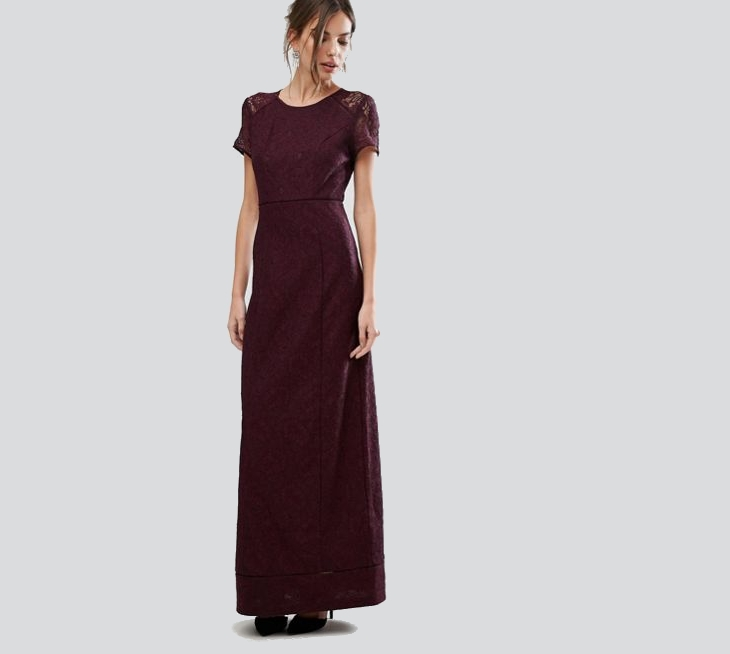 long formal christmas dress