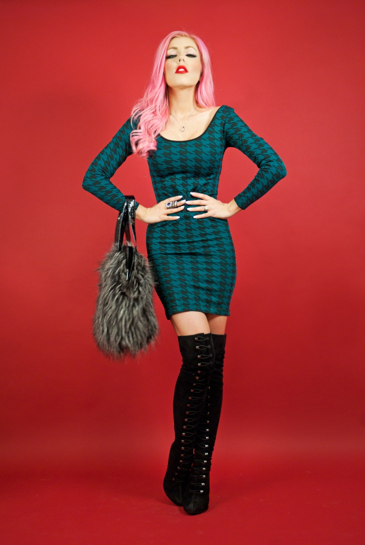 long sleeved christmas dress1