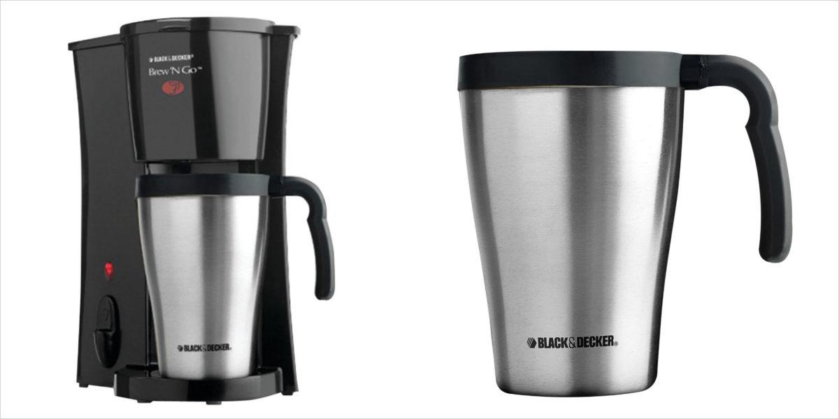 black decker brew n go personal coffeemaker