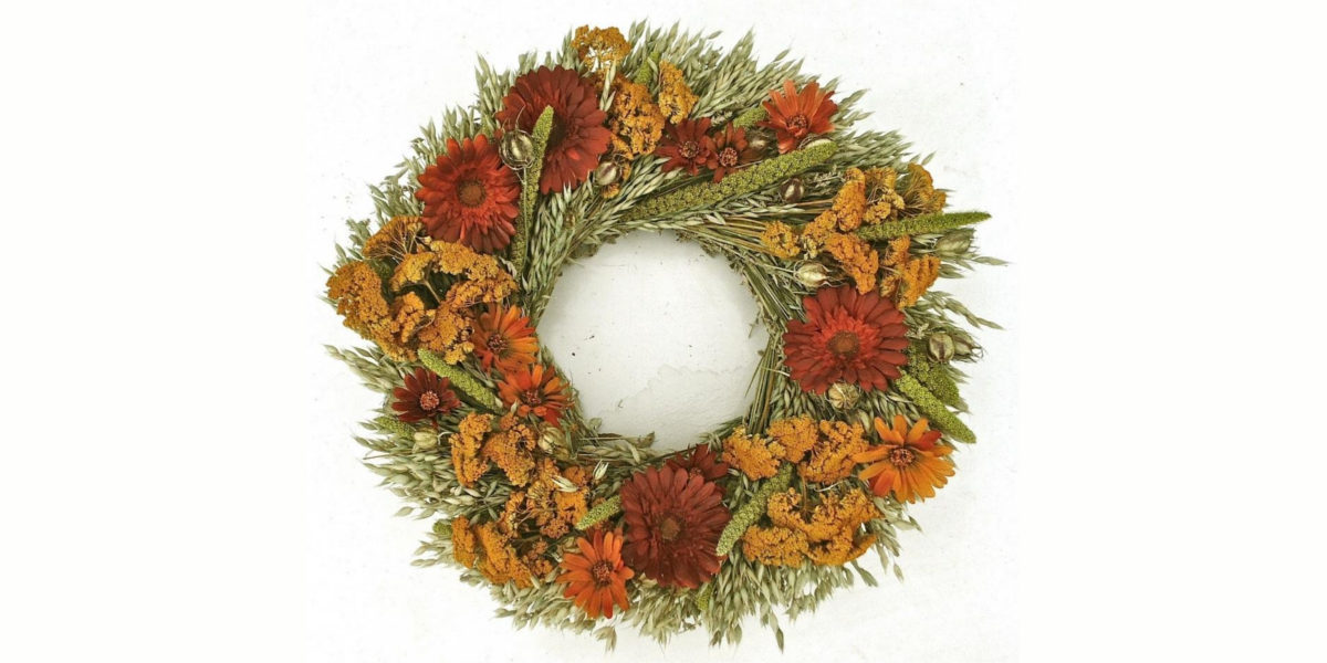 autumn symphony wreath