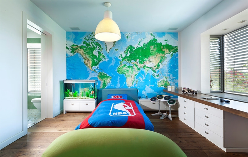 17+ Map Wall Art Designs, Ideas