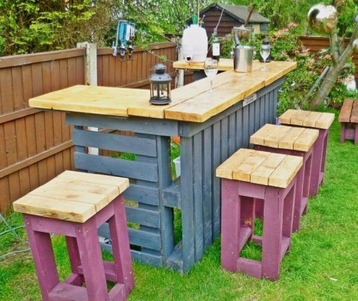 diy Garden furniture idea