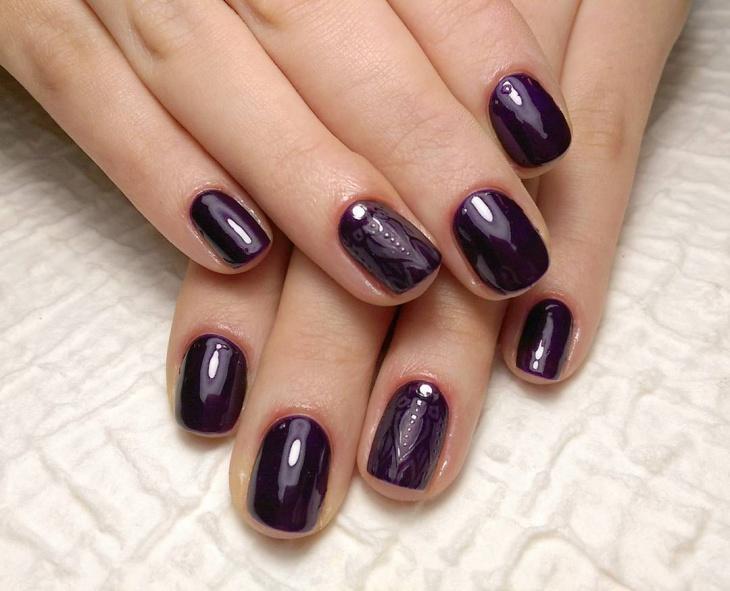 wonderful baroque nail design