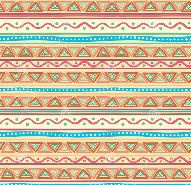 striped tribal pattern