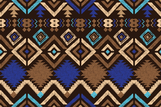 tribal seamless ornament pattern