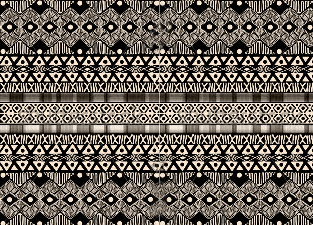african tribal ethnic pattern