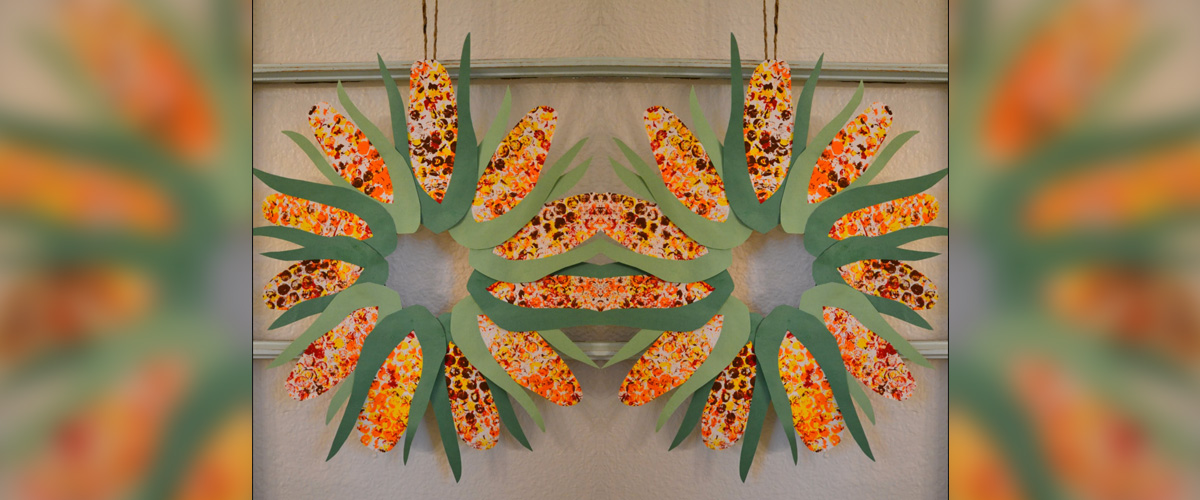 corn-wreath