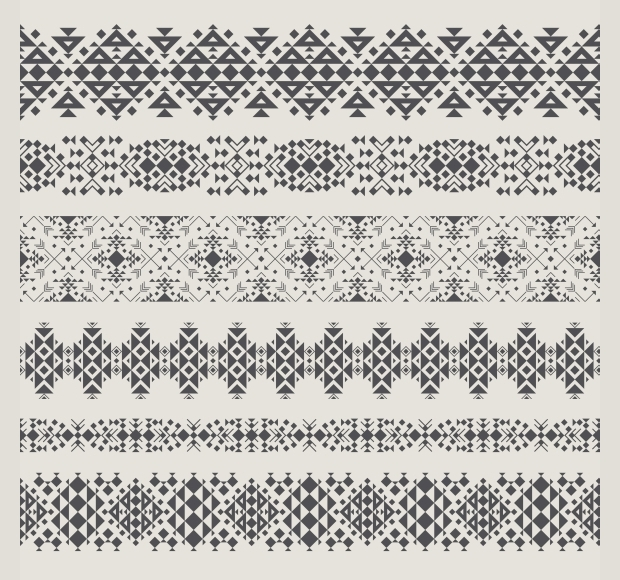 decorative tribal pattern