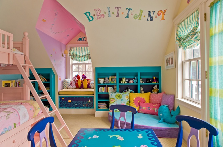 Colorful Kids Bedroom Furniture