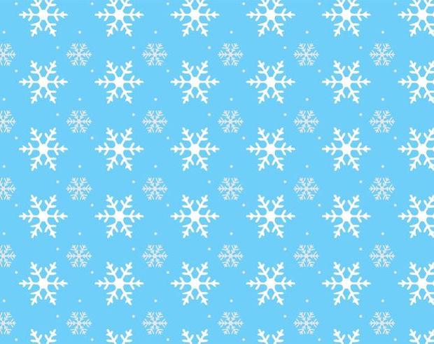 high resolution winter snowflake pattern