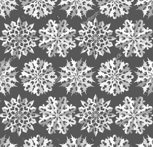 christmas snowflake paper pattern