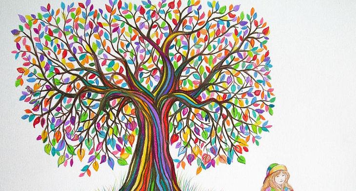 25 tree drawings art ideas design trends premium psd vector
