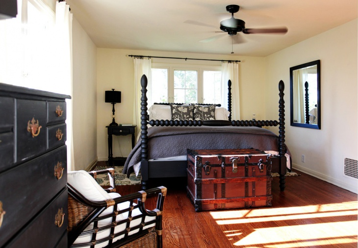 Black Traditional Bedroom Furniture