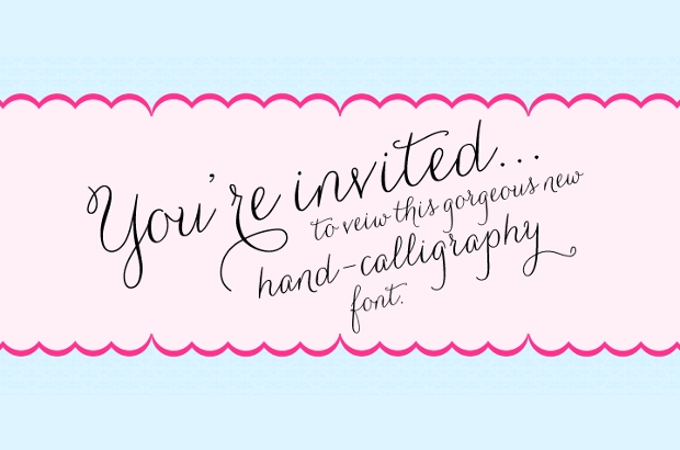 girly cursive tattoo fonts