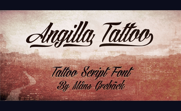 Tattoo fonts ttf otf design trends premium psd vector