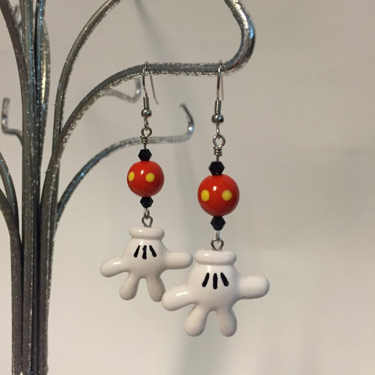 sterling silver disney earring design