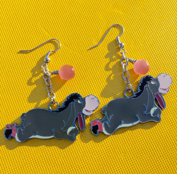 lovely disney earrings idea