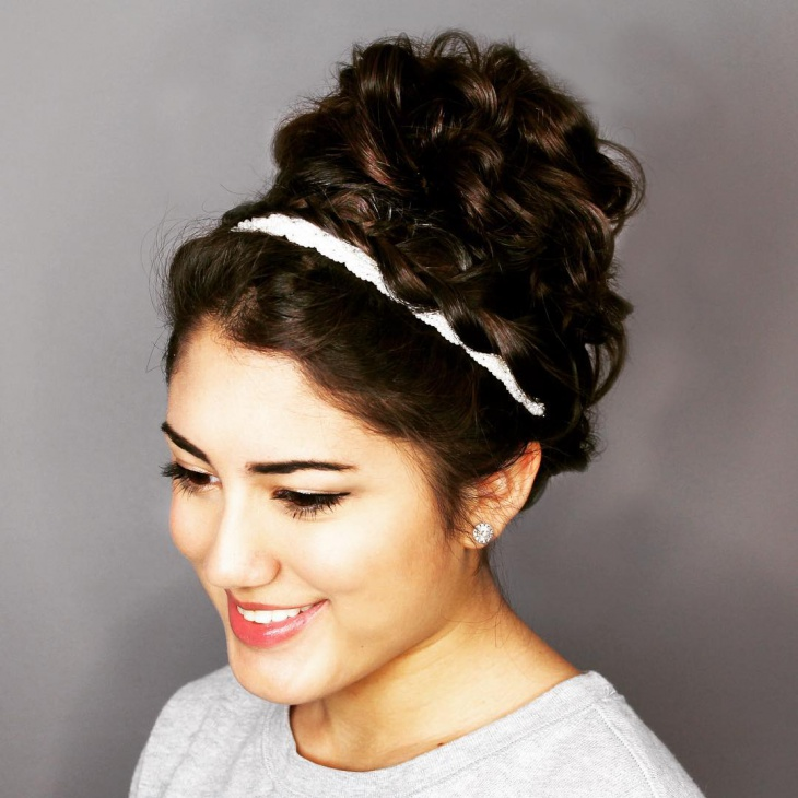 Christmas Party Updo Hairstyle