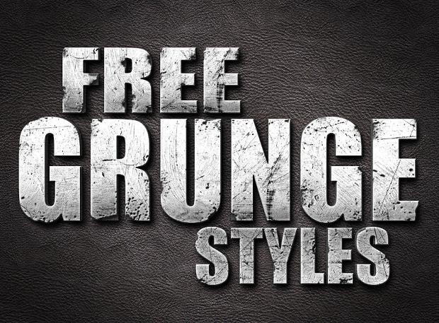 Free Photoshop Grunge Style