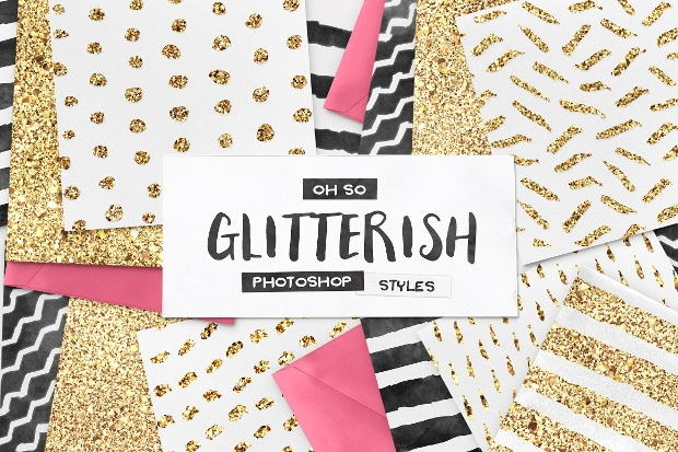 glitter photoshop layer style