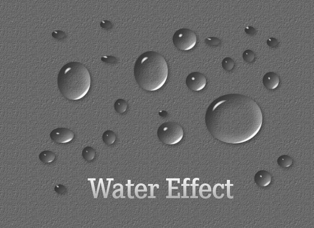 photoshop water effect style